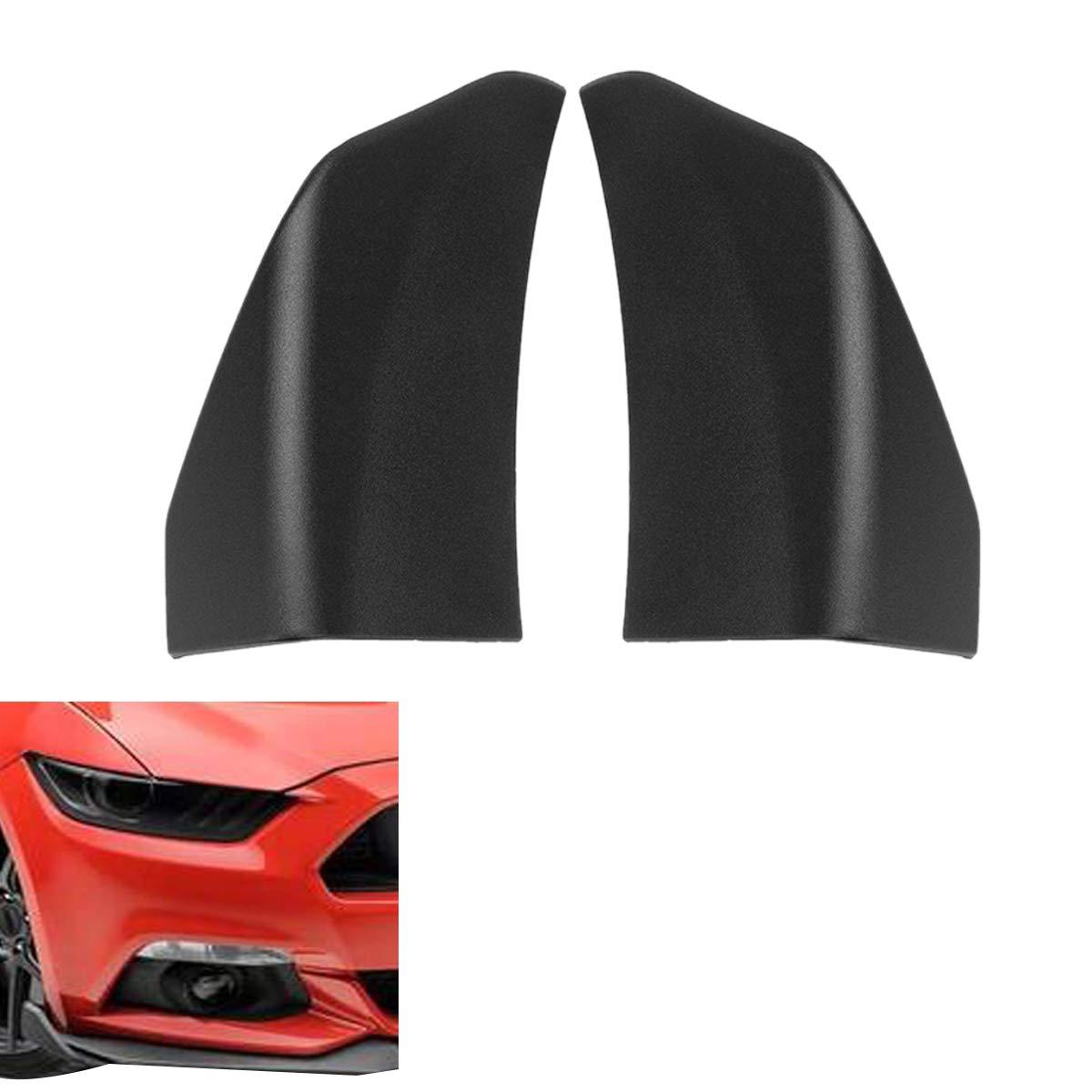 Etase ala Decorativa del Parachoques Delantero del Coche Spoiler para Mustang 2015-2017