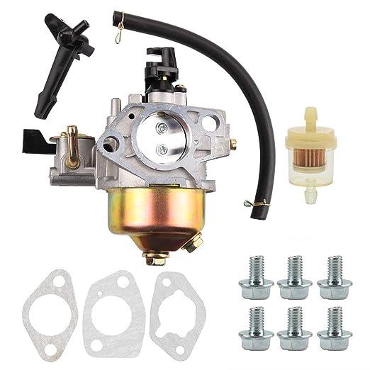 Panari 16100-ZF6-V01 Carburador para Honda GX390 GX 390 13HP Motor ...