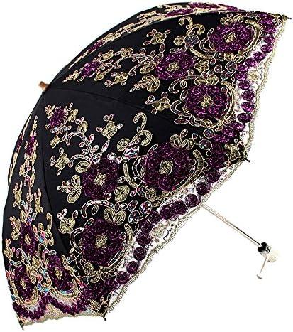 Black Gothic Parasol Umbrella Lace Parasol Bridal Shower Decorative Umbrella Black