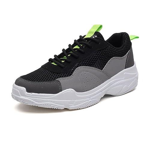 Zapatilla de Deporte de Primavera y Verano Transpirable Zapatos Casuales Zapatillas Verdes Ocio: Amazon.es: Zapatos y complementos