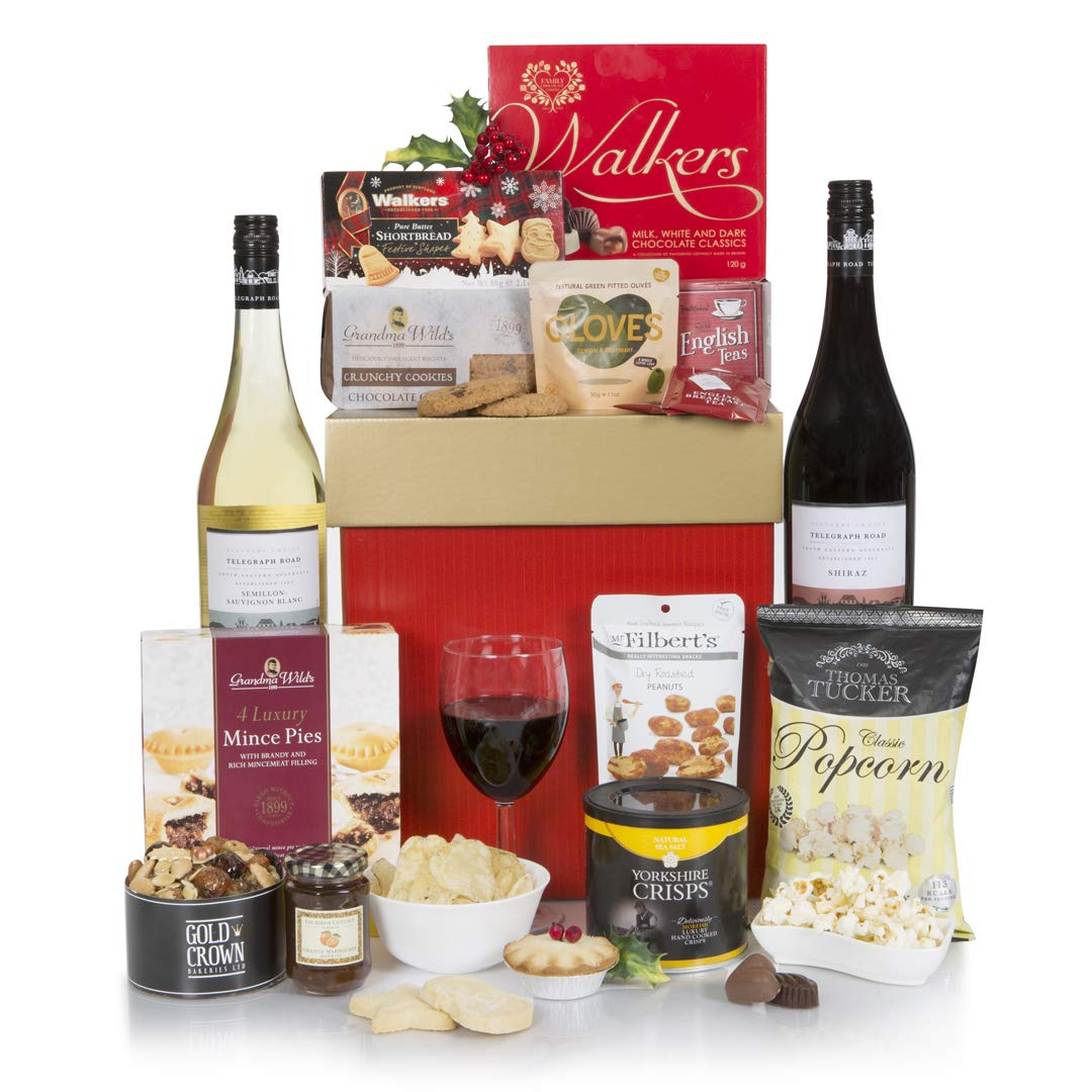 Christmas Gift Baskets 2019.Winter Wonders Christmas Hamper 2019 Luxury Christmas Hampers Xmas Gifts Wine Gift Baskets Range