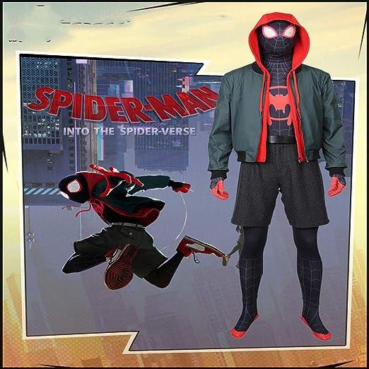 Marvel Spider-Man Cosplay Traje Paralelo Universo Cos Traje De Una ...