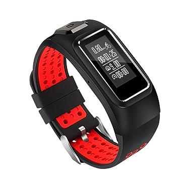 Smartwatch Fitness Tracker Monitor de ritmo cardíaco para la ...