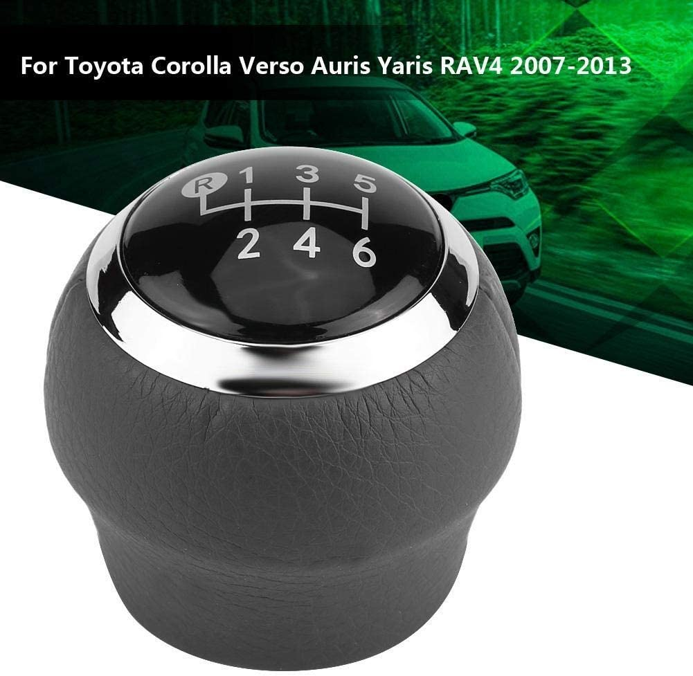 Corolla Verso Auris Yaris RAV4 2007-2013 KSTE Car 6 Speed Gear Shift Lever Knob Compatible with