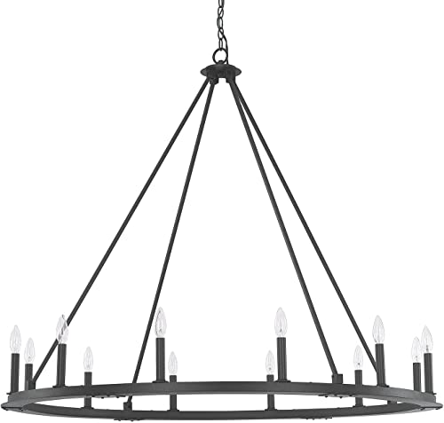 Capital Lighting 4912BI-000 12 Light Chandelier
