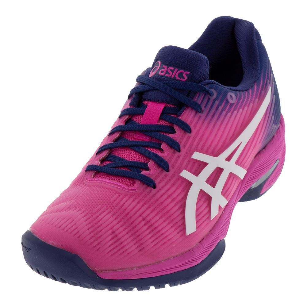 ASICS Womens Solution Speed FF Tennis Shoe B077MMSN37 7.5 B(M) US|Pink/White