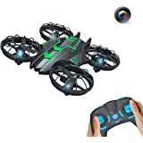 GoolRC 515V 0.3MP Camera Drone Hovering Drone UFO 2.4G 4CH 6-Axis Remote Control Quadcopter with Altitude Hold Headless Mode Photo/Video Taking Quadcopter(Green)