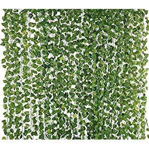 BS AMOR Home Decor Artificial Garland Money Plant Creeper | Wall Hanging | Speacial Ocassion Decoration | Home Decor…