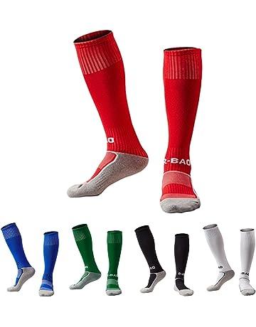 895ee75afc54 Kids Soccer Socks 5 Pack   1 Pack Knee High Tube Socks Towel Bottom  Pressure Football