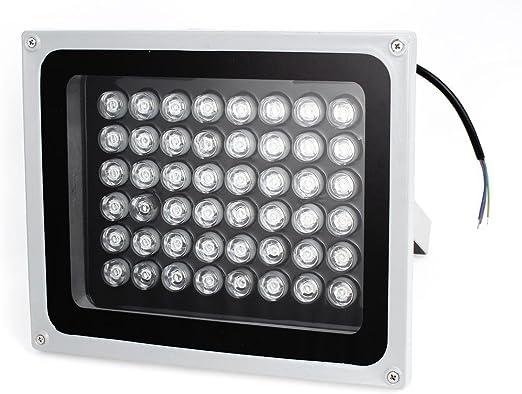 Proyector LED rojo AC85-245V 48W Luz de construcción al aire libre ...