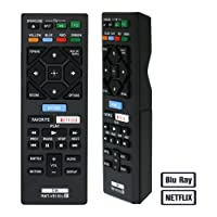Alkia Blu Ray Remote Control Compatible Replacement for Sony RMT-VB100U Remote(DVD Player), Applicable BDPBX150 BDP-BX150 BDPBX350 BDP-BX350 BDPBX550 BDP-BX550 BDP-BX650 BDPS1500 BDP-S1500 BDP-S2500
