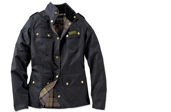 Amazon.com  Barbour International Women s Vintage Lightweight Jacket ... ee8cce1e53d3