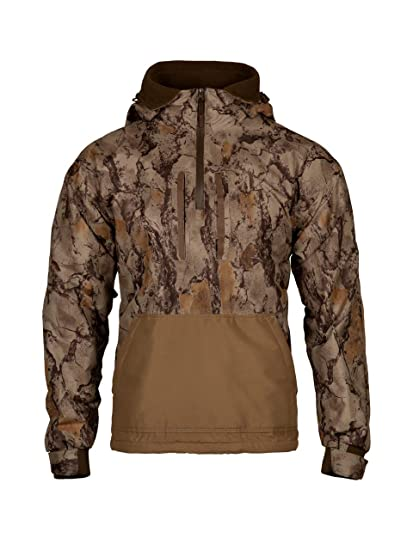 d0b55c7a65091 Natural Gear Camo Waterfowl Pullover, Camo Hunting Coat for Women and Men  with Fleece Lining