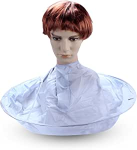 ewinever(R) Hair Cutting Umbrella Style Hair Cutting Cloak Umbrella Cape Salon Barber Hairdressing Gown Family
