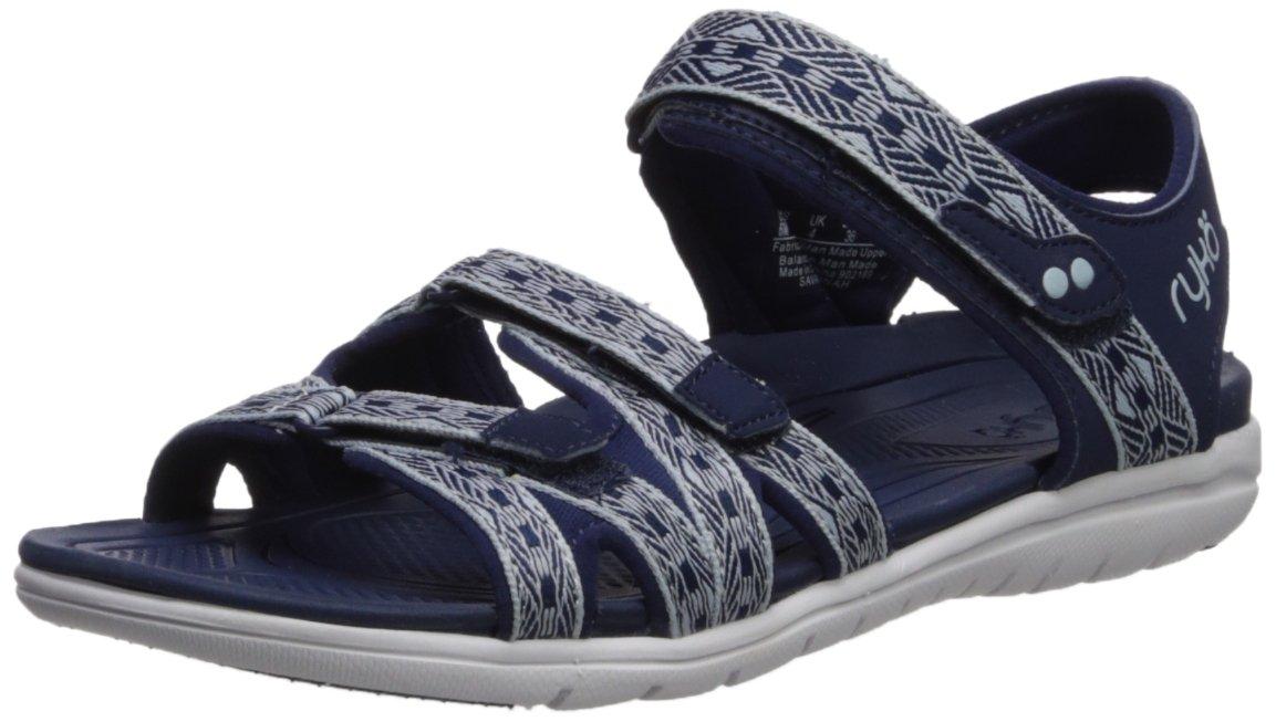Ryka Women's Savannah Sandal B07577VRTZ 9 M US|Medieval Blue/Soft Blue