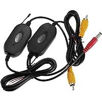 ZYCX123 Ricevitore Wireless Professionale RCA Trasmettitore Wireless Receiver Car 2.4 GHz per Veicolo Posteriore Vision Connection Monitor