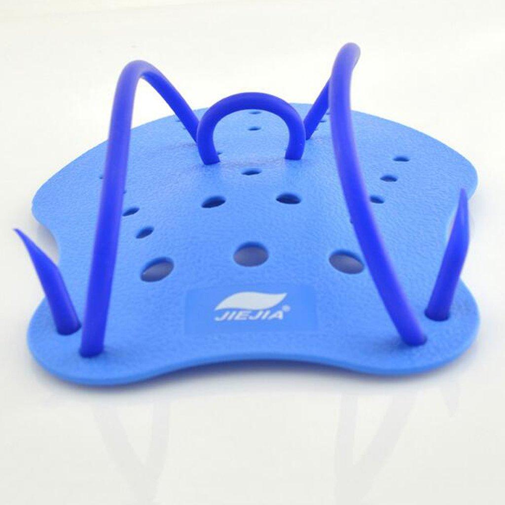 Sharplace Palas de Mano para Ni/ños Adultos Material de Entrenamiento para Nataci/ón Color Azul Tama/ño S//M//L
