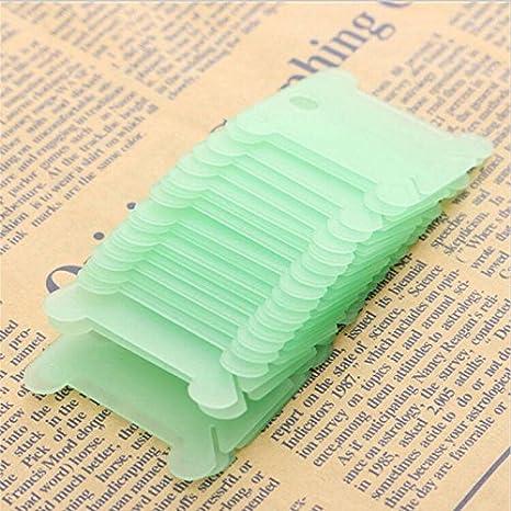 200Pcs Plastic Bobbins Embroidery Floss/&Craft Storage Cross Stitch Thread Holder