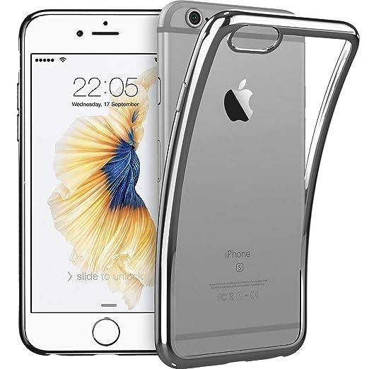 ESR Kompatibel mit iPhone 6 / 6S Hülle (4,7 Zoll), Twinkler Series [0.8mm Ultra Dünne] Weiche Silikon Schutzhülle TPU Transpa