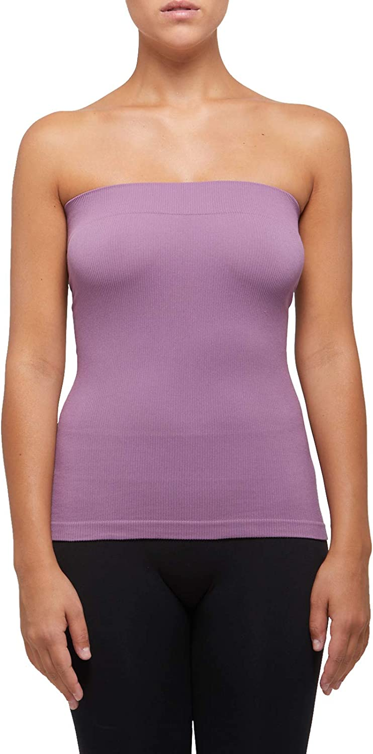 SENSI Top Donna Cotone Senza Cuciture Seamless Made in Italy