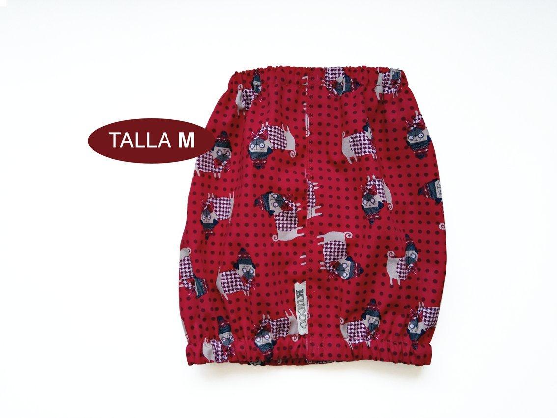 Cubreorejas (Dog Snood) Pugs Kucoo - Talla M