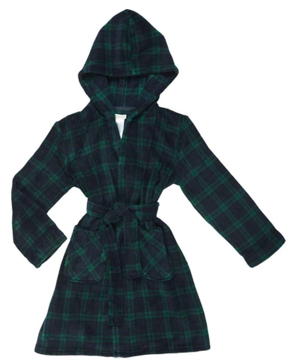 Komar Kids Boys Plush Fleece Flame Resistant Robe