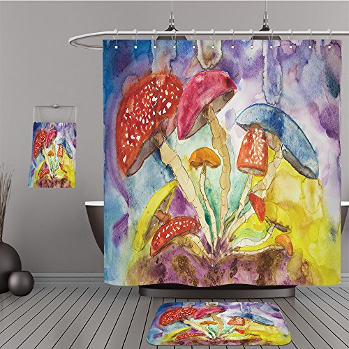 Uhoo Bathroom Suits & Shower Curtains Floor Mats And Bath Towels 313911560 Psychedelic mushrooms insomnia. The dabbing technique gives a soft focus effect due to the altered surface roughness of the p