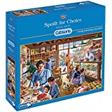 Gibsons Spoilt for Choice Jigsaw Puzzle (1000-Piece)