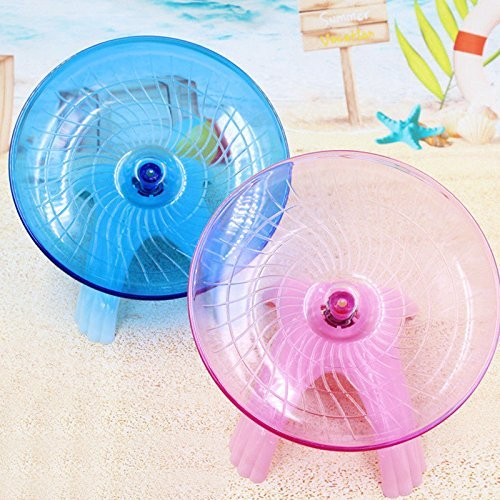 VIPASNAM-Flying saucer exercise wheel hamster gerbil cage toy 4.9