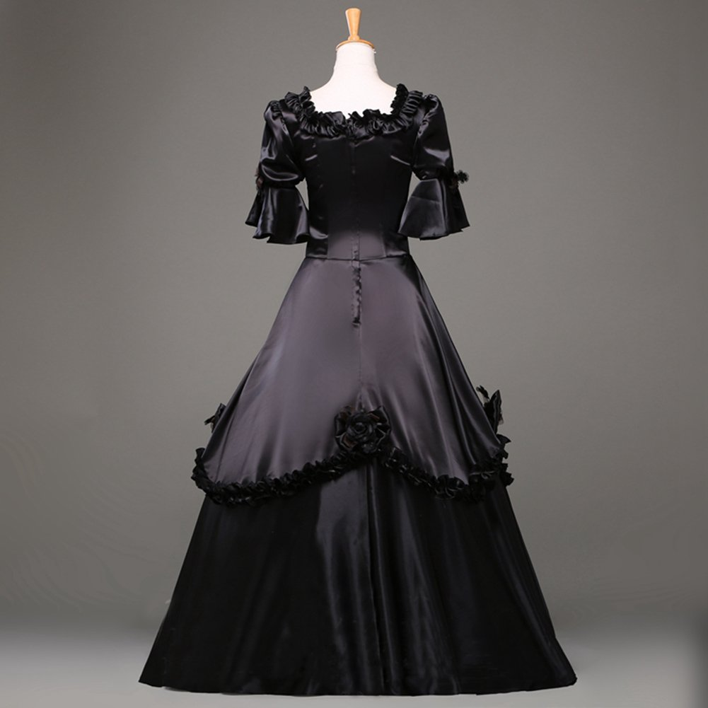 5ce0cf3760891 Amazon.com: Ladies Medieval Renaissance Victorian Dresses Masquerade  Costumes Queen Ball Gown: Clothing