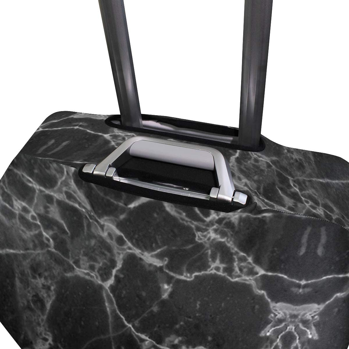 Black Marble Universe Traveler Lightweight Rotating Luggage Cover Can Carry With You Can Expand Travel Bag Trolley Rolling Luggage Cover