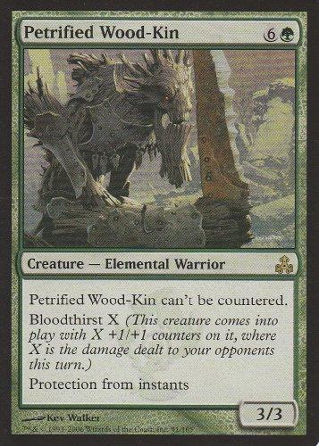 Petrified Wood-Kin (Magic the Gathering : Guildpact #91 Rare)