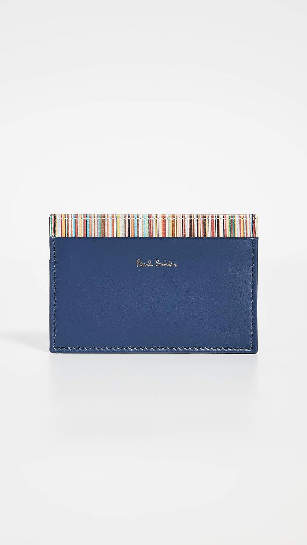 Paul Smith Mens Interior Stripe Card Case