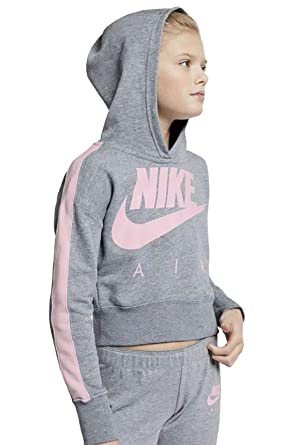 397b5309ab Nike G NSW Crop PE Air Sweat-Shirt Fille: Amazon.fr: Sports et Loisirs