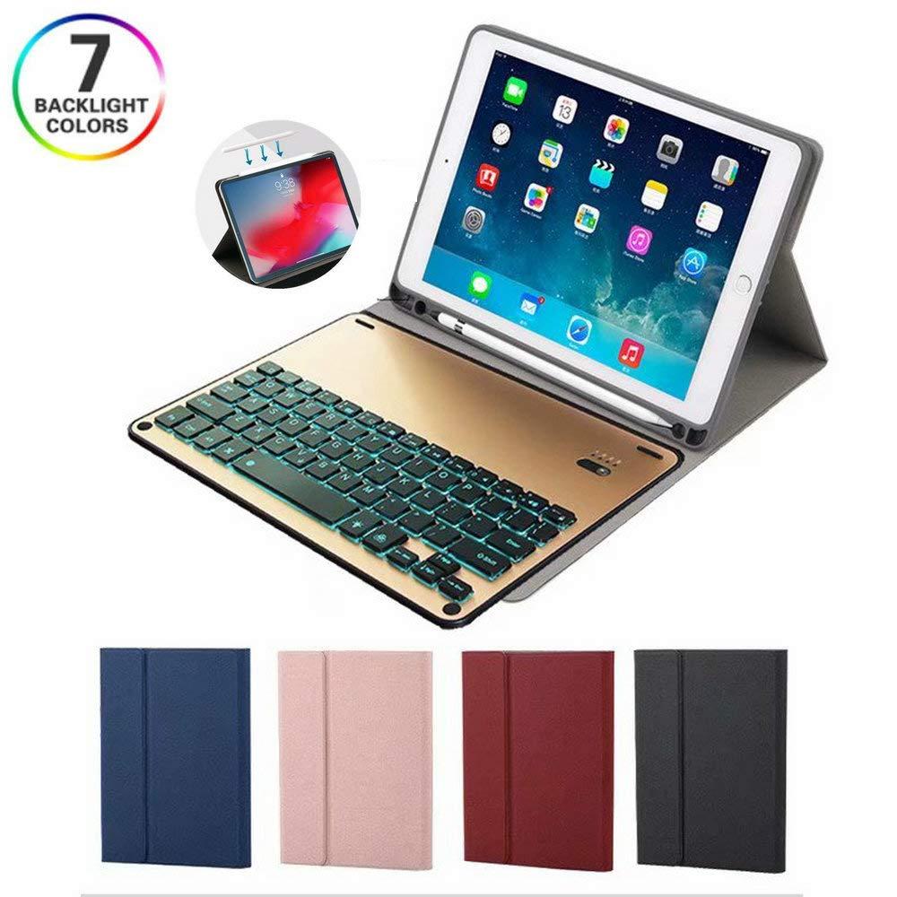 激安正規品 キーボードケース iPad iPad Pro 11インチ 2018年リリース対応 Pro iPad アルミニウムメタルバックライトキーボードケース ペンシルホルダー付き Apple Pencil充電をサポート iPad Pro 11 201812121207 iPad Pro 11 ワインレッド B07LBFY473, ショップ セフティ:61aba553 --- a0267596.xsph.ru