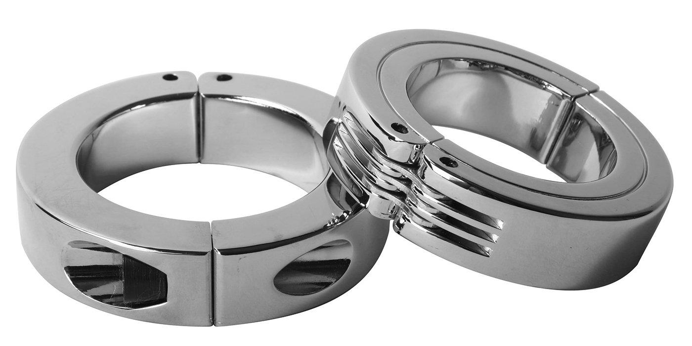 Amazoncom Master Series Locking Hinged Cock Ring Small Health