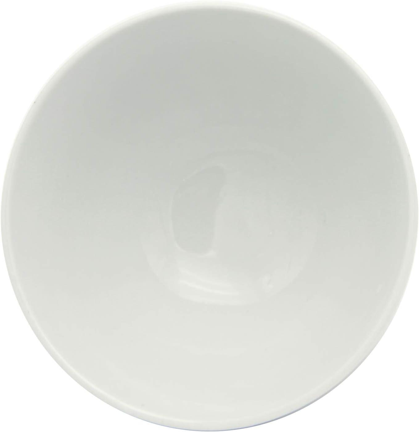 H7.5CM INSEA LOT 6 Bols en Porcelaine Blanche D14CM