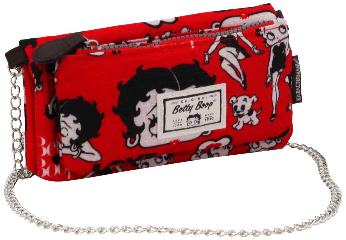 Karactermania Betty Boop Rouge Monederos, 20 cm, Rojo ...