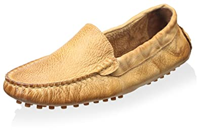 Amazon Com Chocolat Blu Women S Leather Moccasin Sandals