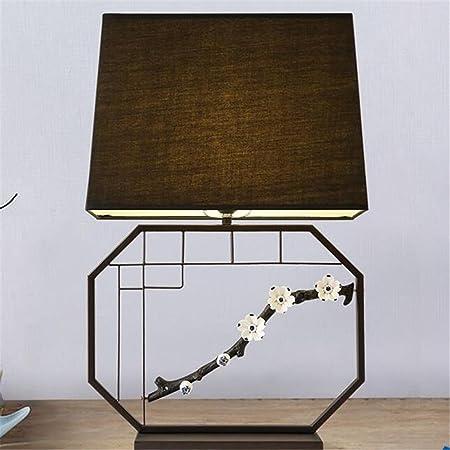 KDLD Lámpara de Mesa ® Lámpara de escritorio retro E27 Lámpara de ...