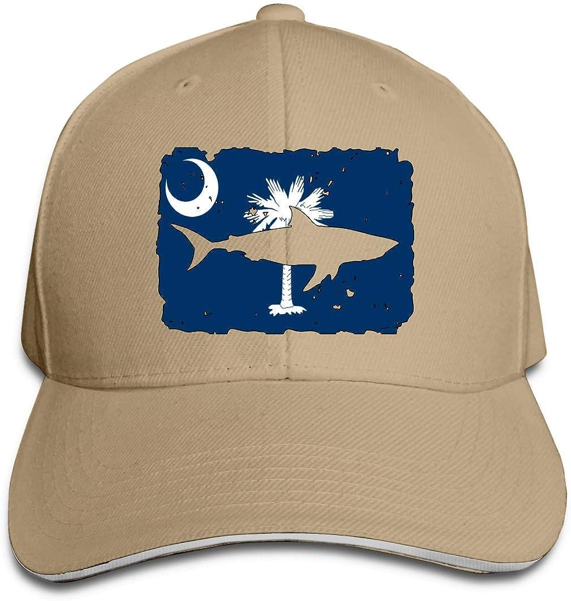 Baseball Cap Dad Hat Peaked Flat Trucker Hats Adjustable for Men Women