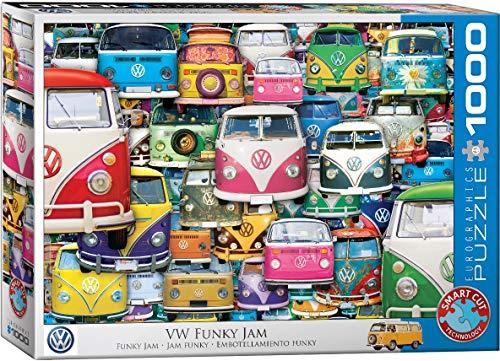 EuroGraphics 5423 Volkswagen Funky Jam 1000Piece Puzzle