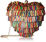Betsey Johnson Hearts Don'T Lie Hard Case Crossbody, Multi