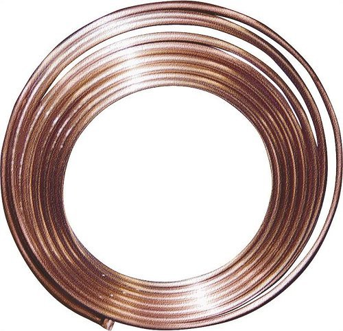 Refrigeration Copper Tubing, 1/8'' x 50' by Cardel Industries