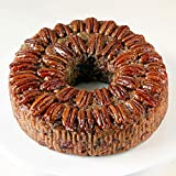 Medium Texas Blonde Pecan Cake 2 lb. 14 ozs. Collin Street Bakery