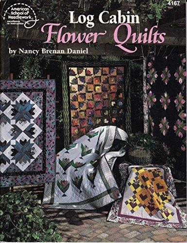 Log Cabin Flower Quilts (Nancy Floral Quilt)