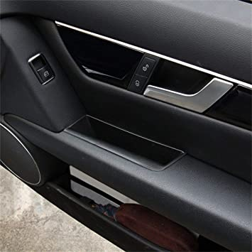 Interior Armrest Storage Box Organizer Holder For Benz C Class W204 2008-2013