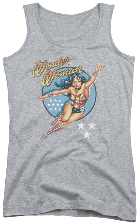 Wonder Woman Vintage Juniors Tank Top