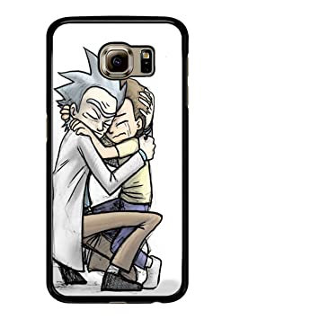 coque galaxy s6 edge rick et morty