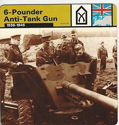 1977 Edito-Service, World War II, 30.15 6-Pounder Anti-Tank Gun